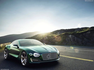 Bentley, Exp 10 Speed 6 ile Cenevre'yi Salladı