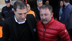 Medicana Sivasspor: 0 - Beşiktaş: 1 (İlk Yarı)