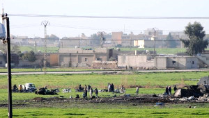 Bombardıman Sonra Işid'in Rafinerisi Kullanılamaz Hale Geldi