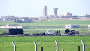 Koalisyon Güçleri Telabyad'ı Bombaladı Akçakale'de Camlar Kırıldı