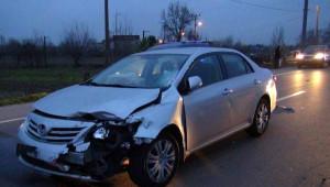 Aracına Otomobil Çarpan Engelli Öldü