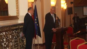 AB Bakanı Bozkır, Litvanya Milli Günü'ne Katıldı