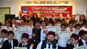 Başkan Çerçi: 'İstiklal Marşı Yeniden Doğuşumuzu Temsil Ediyor'