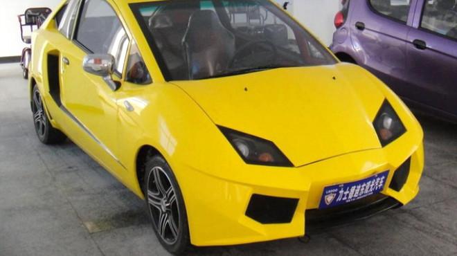 Bu da Çin Malı Lamborghini