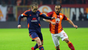 Galatasaray: 1 - İstanbul Başakşehir: 0 (İlk Yarı)