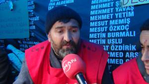 Somalı Maden İşçilerinin Eylemi Yağmura Rağmen Devam Ediyor