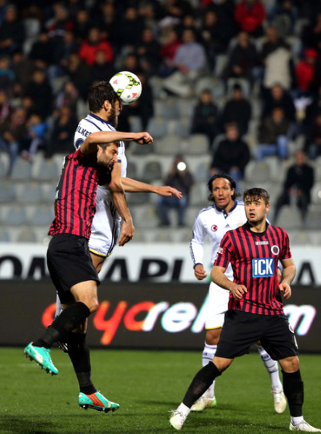 Gençlerbirliği: 1 - Fenerbahçe: 0 (İlk Yarı)