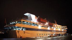 Mavi Marmara Gemisi Samsun'dan Çanakkale'ye Uğurlandı