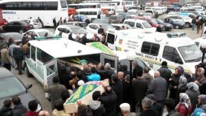 Trabzon'da Sobadan Zehirlenerek Ölen 3 Kişi Toprağa Verildi