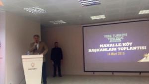 Milletvekili Bünyamin Özbek AK Parti Mahalle ve Köy Başkanları Toplantısına Katıldı