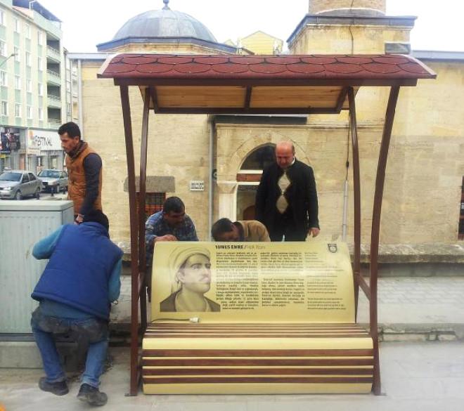 Karaman'da 'Konuşan Bank'
