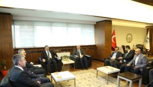 Müsiad Eski Başkanlarından 'Hayırlı Olsun' Ziyareti