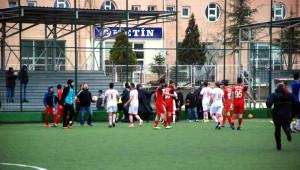 Tokat'ta Amatör Maç Sonrası Olay Çıktı