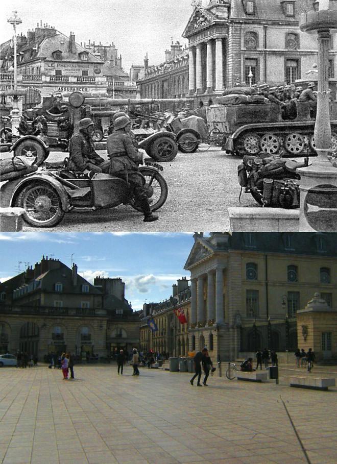 2. Dünya Savaşı Fotoğraflarının Çekildiği Yerler Şimdi Nasıl Gözüküyor?
