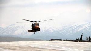 Askeri Helikopter 80 Yaşındaki Kadın İçin Havalandı