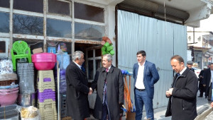 Başkan Necati Gürsoy'dan Esnaf Ziyareti