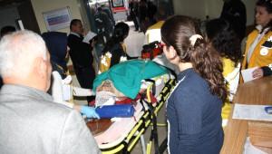 Okul Servisi Yan Yattı: 9 Yaralı