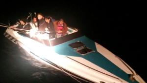 Yunan Adalarına Geçmek İsteyen Kaçaklara, Sahil Güvenlik Kalkanı