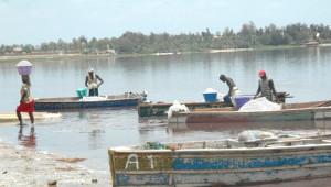 Doğa Harikası Göl, Pembe Rengiyle Görenleri Büyülüyor