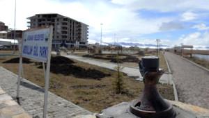 Abdullah Gül Parkı'nın Lambalarını Kırdılar