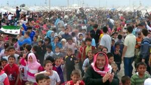 İdlip Kuşatması Çadır Kentte Miting Havasında Kutlandı