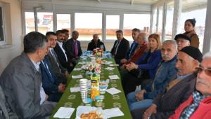 Başkan Çerçi Sözünü Tutarak Cem Evi'ni Ziyaret Etti