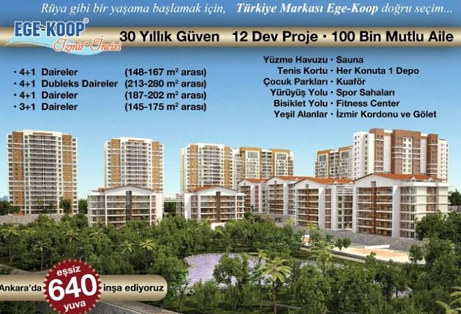 Ege Koop, Ankara'ya Smyrna Evleri ile Gidiyor