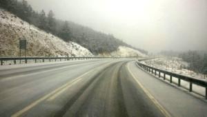 Taraklı'da Kar Yağışı Yüksek Kesimlerde Etkili Oluyor