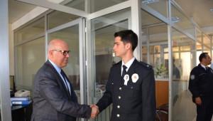 Süleymanpaşa Belediye Başkanı Eşkinat'tan Emniyete Ziyaret