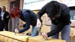 AB Destekli Taş İşçiliği Projenin Eğitimleri Başladı