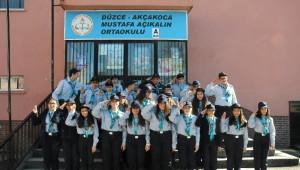 Akçakoca İzcileri, Çanakkale Yolunda