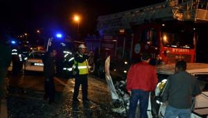 Kayseri'de Feci Kaza: 1 Ölü 5 Yaralı