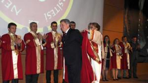 Makedonya Cumhurbaşkanı'na Fahri Doktora Payesi Verildi