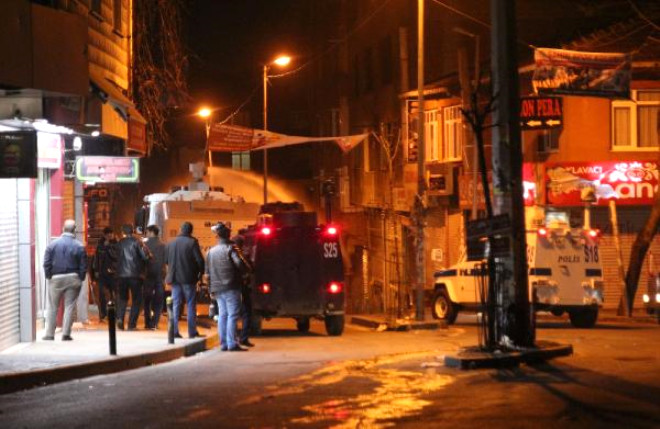 Okmeydanı'nda Polis Müdahalesi