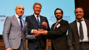 Plattino Ödülleri Christian Wulff ve Oyuncu Nursel Köse'ye Verildi