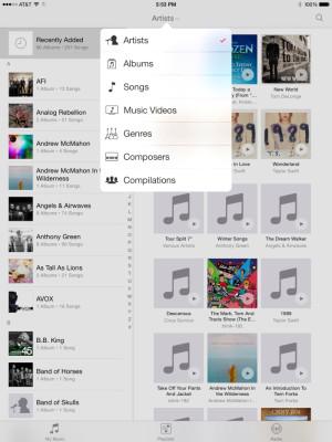 İos 8.4 ile Yenilenmiş Müzik Uygulamasının Detaylı Görüntüleri