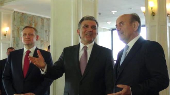 Abdullah Gül'den Topbaş'a Sürpriz Ziyaret