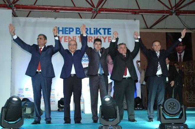 AK Parti Karaman Adaylarını Tanıttı