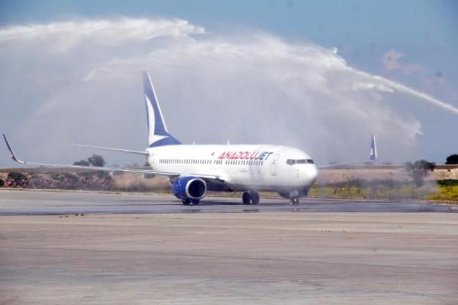 Anadolu Jet, Sabiha Gökçen'den Şanlıurfa'ya Sefer Başlattı