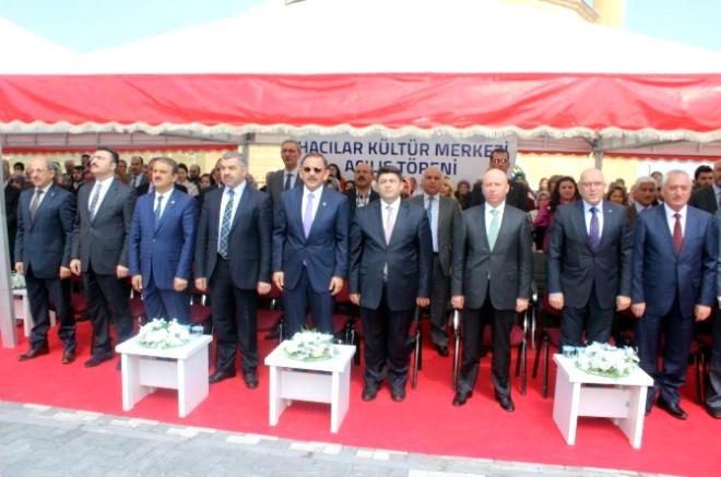 Hacılar Kültür Sitesi Açıldı