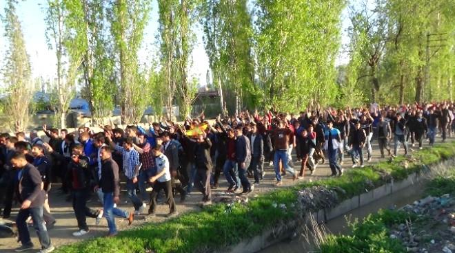Iğdır'da PKK'lının Cenazesinde Olay Çıktı