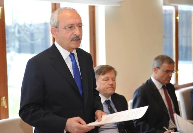 Kılıçdaroğlu, Başbakan'ın Ortak Metin Çağrısına Cevap Verdi