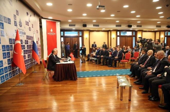 Moskova Belediyesi ile İbb Arasında İş Birliği Anlaşması