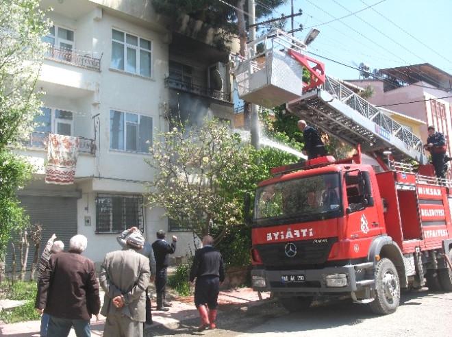 Tokat'ta Mutfak Tüpü Alev Aldı: 1 Yaralı
