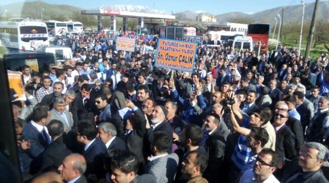 AK Parti Malatya Milletvekili Adayları'na Görkemli Karşılama