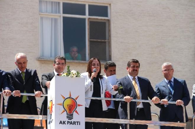 AK Parti Mersin Milletvekili Adayları Mut'ta