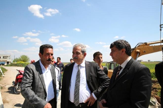 Başkan Demirkol, Yeşildirek ve Kümeevler'de