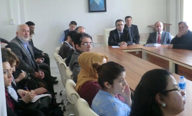 Eğitim Toplantısı Yapıldı