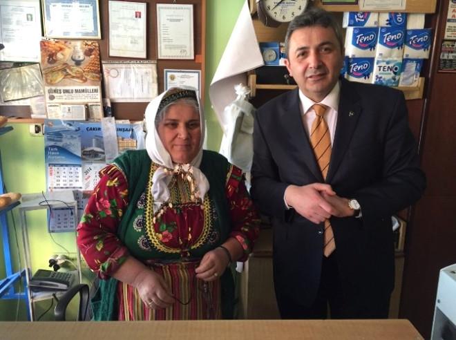 Emin Çınar, Azdavay İlçesini Ziyaret Etti
