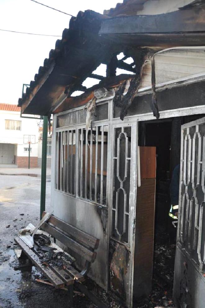 Gümülcine'de Mahmud Ağa Camisi Kundaklandı